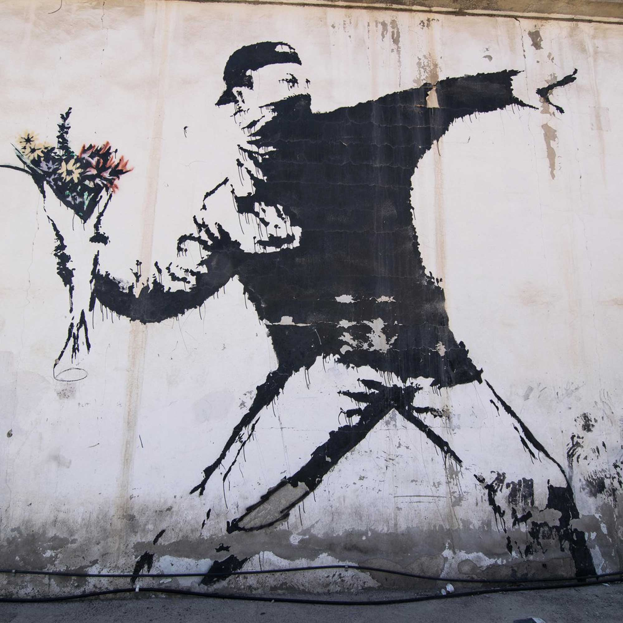 A new exhibition of Banksy in Brussels!