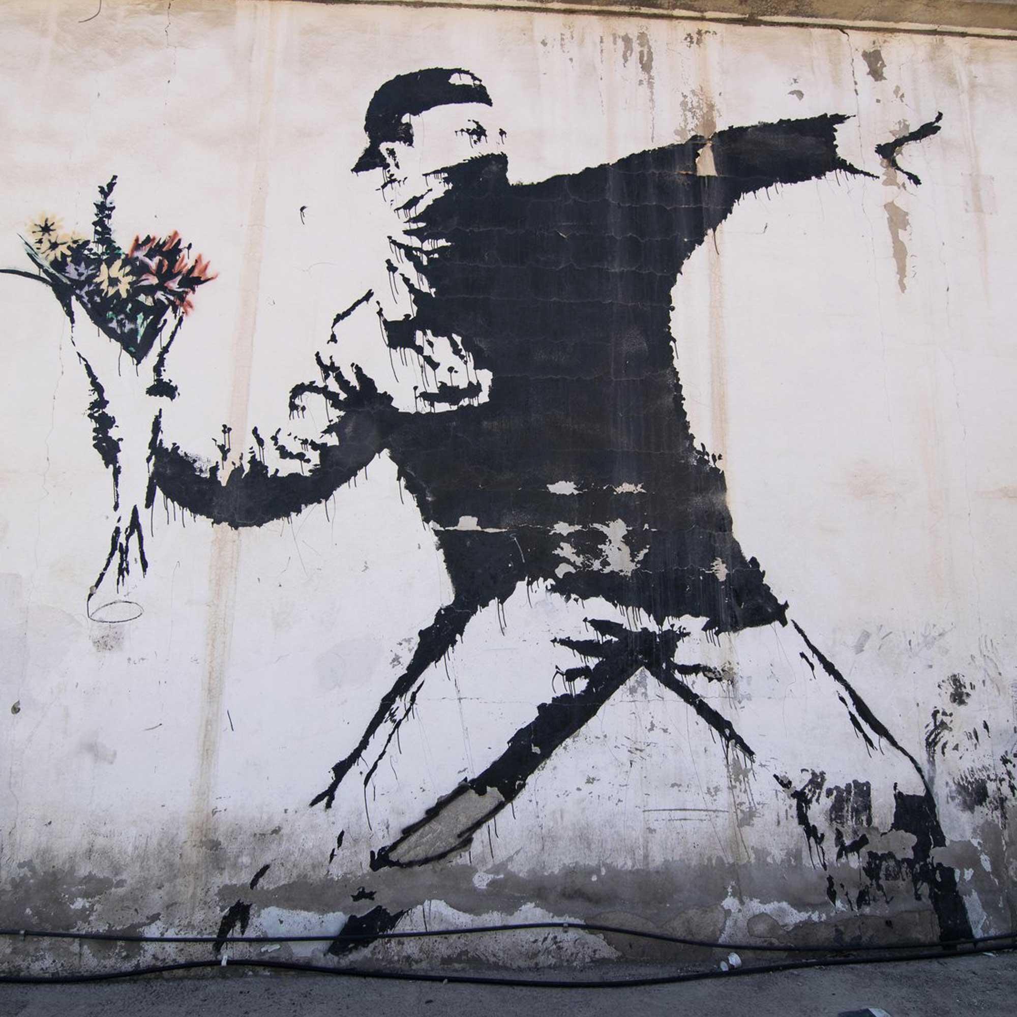 Een ongekende Banksy-tentoonstelling in Brussel!
