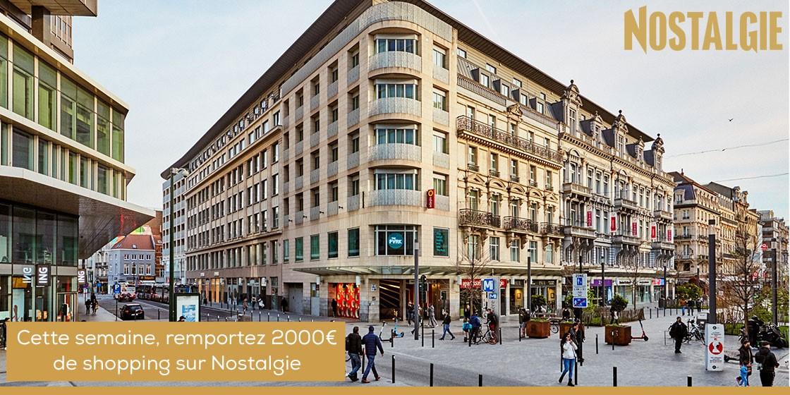 CONCOURS NOSTALGIE 2.000€ de shopping